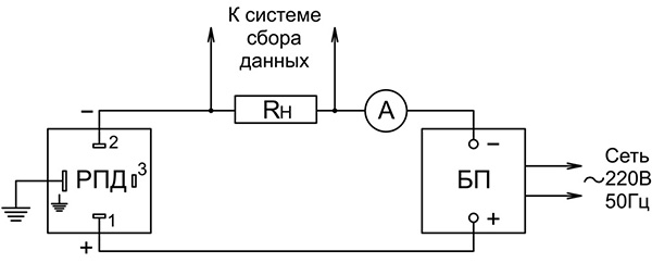 Схема подключения датчика давления РПД И РОСМА